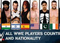 2019 WWE Wrestlers