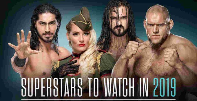 2019 WWE Wrestlers Names