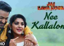 Nee Kallalona Song Lyrics