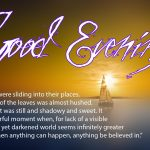 Good Evening For Friends