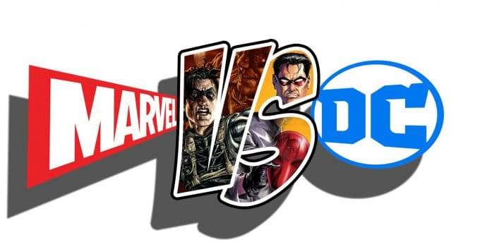 Marvel and D.C. What is Better The Question Is Eternal