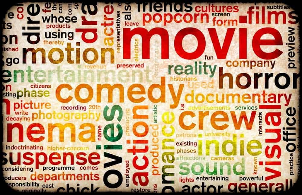 8 Types of Movies You Can Choose